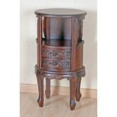 Found it at Wayfair - Windsor Hand Carved Wood Telephone Stand