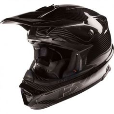 FXR Racing Blade Carbon Solid Mens Sled Snowboard Snowmobile Helmets