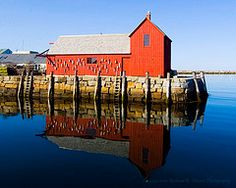 Motif #1 Rockport, MA by Richard D. Vincent Photography #EasyNip
