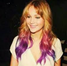 When Jennifer Lawrence cut off all her head of hair last year, the combined effect had been a gasping what? adopted instantly by a being aware of duh! As a result of course Jennifer Lawrence would cut her . Celebrity Hairstyles, Cool Hairstyles, Jennifer Lawrence Hair, Purple Tips, Liam Hemsworth, Best Actress, Hunger Games, Love Her, Actresses