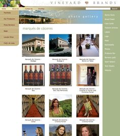 """Did you know that Vineyard Brands provides a photo gallery for each producer with high resolution, downloadable photos for you to use? Just go to www.vineyardbrands.com and use the search box - type the word """"gallery"""" and the name of the producer, or just choose the producer from the home page and use the right-hand menu to select """"photo gallery"""""""