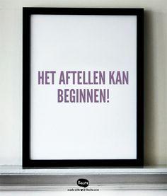 Het aftellen kan beginnen! - Quote From Recite.com #RECITE #QUOTE