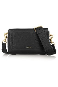 ecfeda33e8 Lanvin - Nomad textured-leather shoulder bag