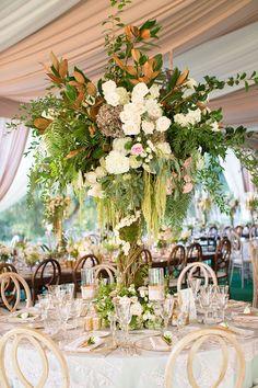 wedding flower centrepiece