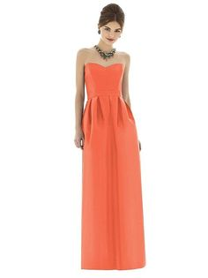 Alfred Sung Style D621 http://www.dessy.com/dresses/bridesmaid/d621/ #FallingInLove