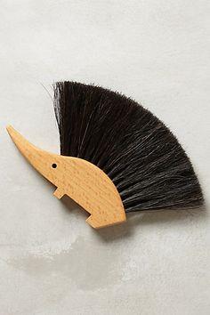 Hedgehog Table Brush - anthropologie.com