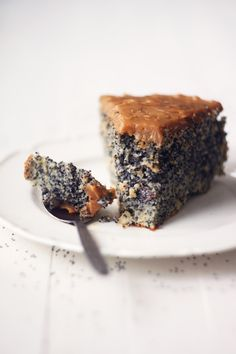 poppy seed cake.