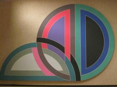 frank stella multi-media work at glass house new canaan ct