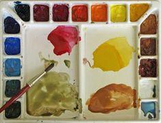 Watercolor Palette joyce hicks