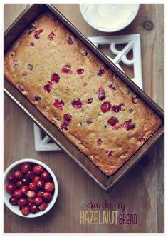 Cranberry Hazelnut Bread