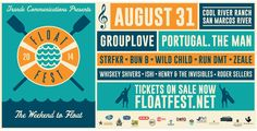 ATX! Tilt tickets for your crew to Float Fest at Don's Fish Camp!
