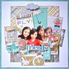 Using Simple Stories Vintage Bliss