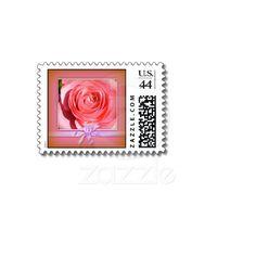 Rose Ribbon Postage