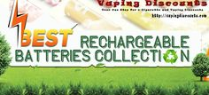 August 6, 2016 Going Fast: Large Battery Sale With Discounts As Big As 64% - http://vapingdiscounts.com/battery-sale/ #vapingdiscounts #vape