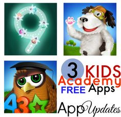 *REVIEW* Check out my reviews of Kids Academy Educational apps! --> http://www.darlindeals.com/2015/02/darlin-deals-reviews-kids-academy-apps.html #MomBuzz #FreeKidsApps