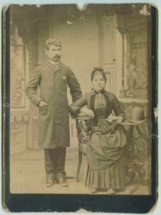 C1900 Romanian Couple