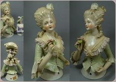 Baroque half doll