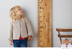 The 'Kids Rule' wooden ruler height chart is a handmade, personalised wooden growth chart, designed as a giant vintage wooden ruler by Lovestruck Interiors. Casa Kids, Growth Chart Ruler, Growth Charts, Wooden Ruler, Ideias Diy, Kid Spaces, Little People, Kids Bedroom, Baby Boy Bedroom Ideas