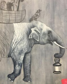 ARE WE THERE YET ELEPHANTS 3655 Animal Poster Poster Print Art A1 A2 A3 A4