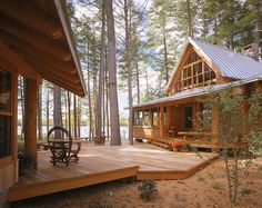 Maine Camp by Whitten Architects