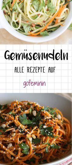 Figurbewusste Gourmets zaubern jetzt Pasta-Genuss aus knackigem Gemüse - ganz ohne Kohlenhydrate!