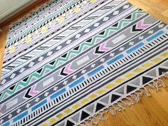 TytDIY: DIY Kelim-matto / DIY Kilim rug