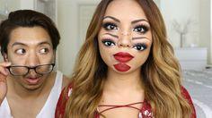 Un tutoriel maquillage effrayant