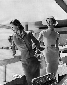 1950's traveling in style