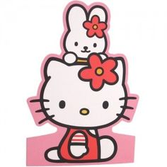 Hello Kitty Stand-up Card: Friends KT