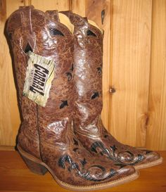 Rivertrail Mercantile - Corral Black Chocolate Lizard Overlay Boots, $229.99 (http://www.rivertrailmercantile.com/corral-black-chocolate-lizard-overlay-boots/)