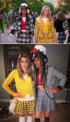 22 Halloween Costumes That Went Massively Viral 90s Halloween Costumes, 90s Costume, Costumes For Teens, Halloween College, Halloween 2019, Clueless Outfits, Cher Clueless Costume, Clueless Fashion, Cher And Dionne
