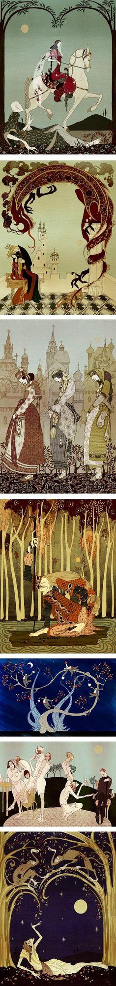Kate Baylay #Illustration