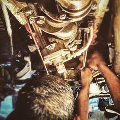 1959 FJ25 Fuel Pump Installation by the Vintage Cruiser Co. - #fj40 #bj40 #fj45 #hj45 #hj47 #vintage #4x4 #fjrestoration #vintagecruisers #vintagecruiser #landcruiser #Toyota #cruisercorps #vintage4x4 - Reserve Yours Today @ http://www.vintage4x4.com/get-yours/build-a-cruiser/