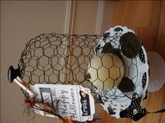 Creating a DIY Wire Cloche for Country Inspired Decor