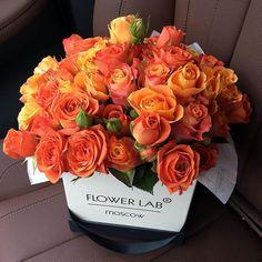 A bouquet of orange flowers.🌹🧡 on We Heart It Amazing Flowers, Beautiful Roses, Beautiful Flowers, Beautiful Flower Arrangements, Floral Arrangements, Ikebana, Luxury Flowers, Flowers Online, Flower Boxes