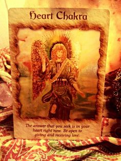 Today's Angel Reading is Heart Chakra. The Angels say: The answer that we seek is in our heart right now. Be open to giving and receiving Love. ~ My Loving Brothers & Sisters, call on Archangels Michael & Metatron, to cleanse & clear your Chakras. If you heart is cold, hurting, fill with anger & hate, you need a Chakra cleansing. Namaste With Love & Light. I am, Cindy xox cindyshealing.com