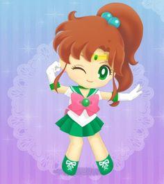 Sailor Moon Drops, Sailor Moon Stars, Sailor Jupiter, Sailor Moom, Cartoon Network, Sailor Moon Official, Chibi, Moon Art, American Version