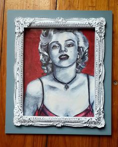 Marilyn, 2016 by vanilla-riot on DeviantArt Correction Fluid, Art Pages, Annie, Vanilla, My Arts, Deviantart, Painting, Instagram, Painting Art