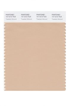 The Season's It Colors, According To Pantone #refinery29 http://www.refinery29.com/pantone-spring-2015-color-palette#slide15 Toasted Almond.
