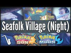 Pokémon Sun & Moon: Seafolk Village (Night) - Jazz Cover    insaneintherainmusic (ft. Auden Durant) - YouTube