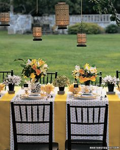 Black, Yellow and White....gorgeous!