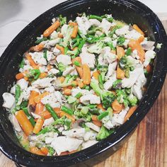 No carb no sugar low fat amazing taste creamy chicken mushroom & vegetable casarole 👌🏻😍