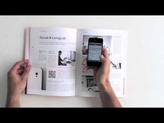 reality magazine with augmented reality