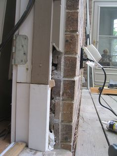 Repairing rotted door jambs. & How To Repair A Rotted Door Jamb By Cutting Out Water-Damaged Wood ...