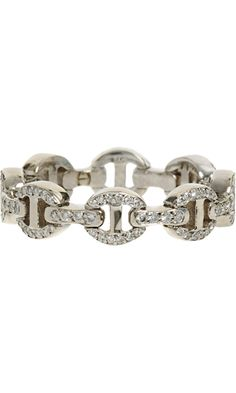 White-Gold-Pave-Diamond-Antiquated Ring