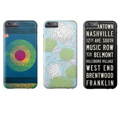 Phone Cases for iPhone and Samsung Galaxy.