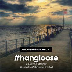 #clicksgefühl der Woche: #hangloose #südwind #freiheit #kitesurfen #ohneneowirdskalt