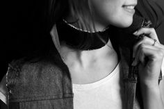 Big Fat Choker from Yours Again // Remade denim accessory line Chocker, Sustainable Fashion, Upcycle, Fat, Denim, Accessories, Collection, Women, Style