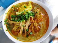 da-nang-fish-cake-noodle-soup-danang-speciality  Please like, share, pin or follow us on Pinterest to have more useful food information. More street food at http://danangfoodie.com/category/blog/ #danangstreetfood #bunchaca #fishcakenoodlesoup #food #danangcuisine