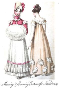 November 1817 Ladies' Monthly Museum The Mirror of Fashion